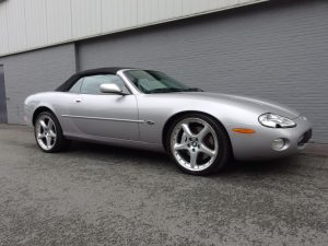 Jaguar XKR Silverstone Convertible 2001 (Very Unique Edition & Great Driver)