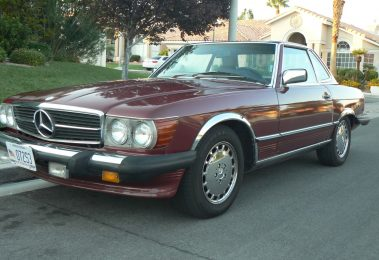 Mercedes 560 SL 1987 (Great Technical Condition & Perfect Driver)