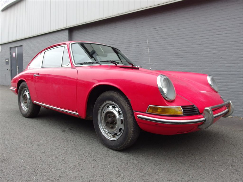 Porsche 912 Coupe 1966 (Project Car ready for Restoration)