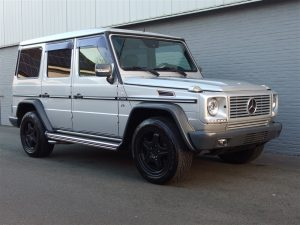 Mercedes G55 AMG 2002 (Rare Model & Extremely Powerful)