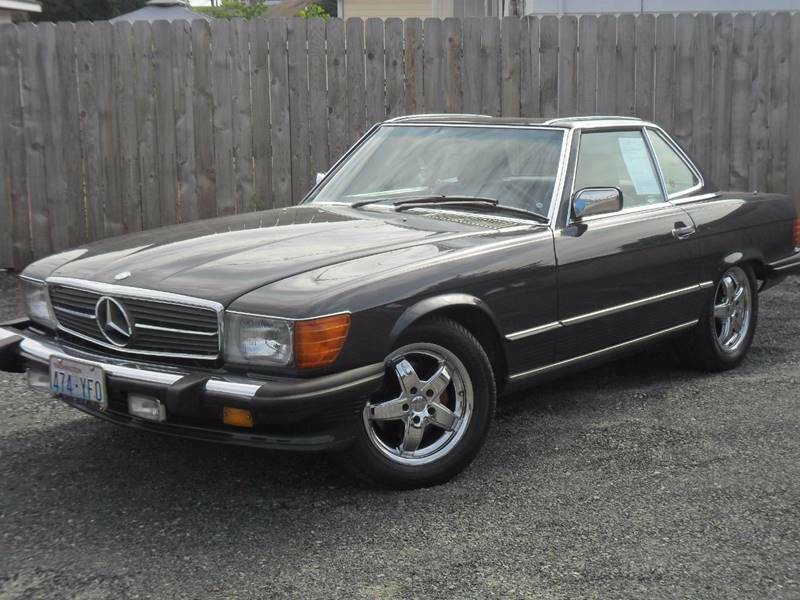 Mercedes 560 SL 1988 (Perfect Body & Strong Driver)
