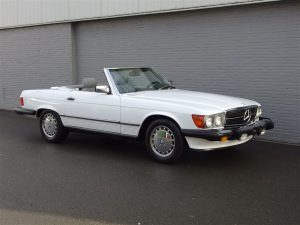 Mercedes 560 SL 1989 (Last Production Year & Perfect Driver)