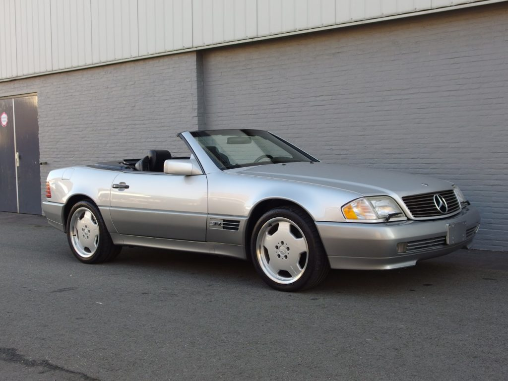 Mercedes SL 600 1995 (Presentable Car & Powerful Engine)
