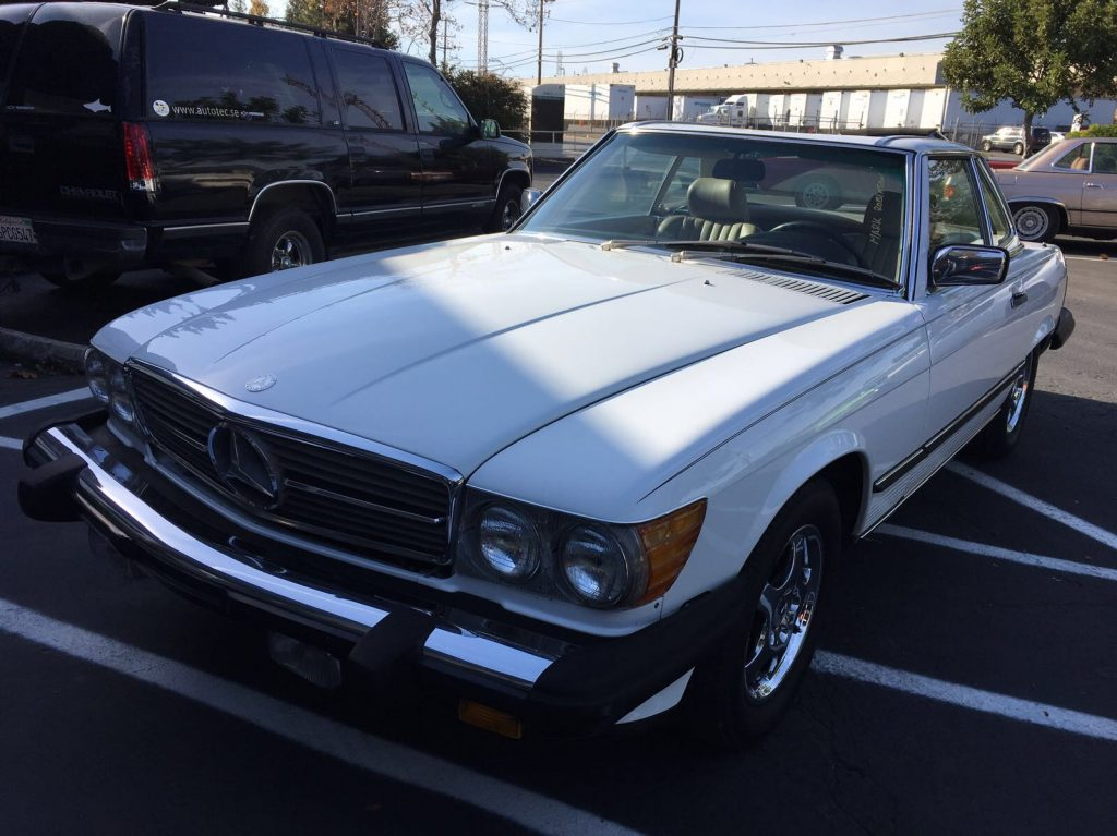 Mercedes 560 SL 1988 (Great Body & Strong Technics)