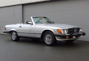 Mercedes 560SL 1986 (California Import & Great Cruiser)