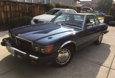 Mercedes 560 SL 1989 (Last Production Year & Strong Runner)