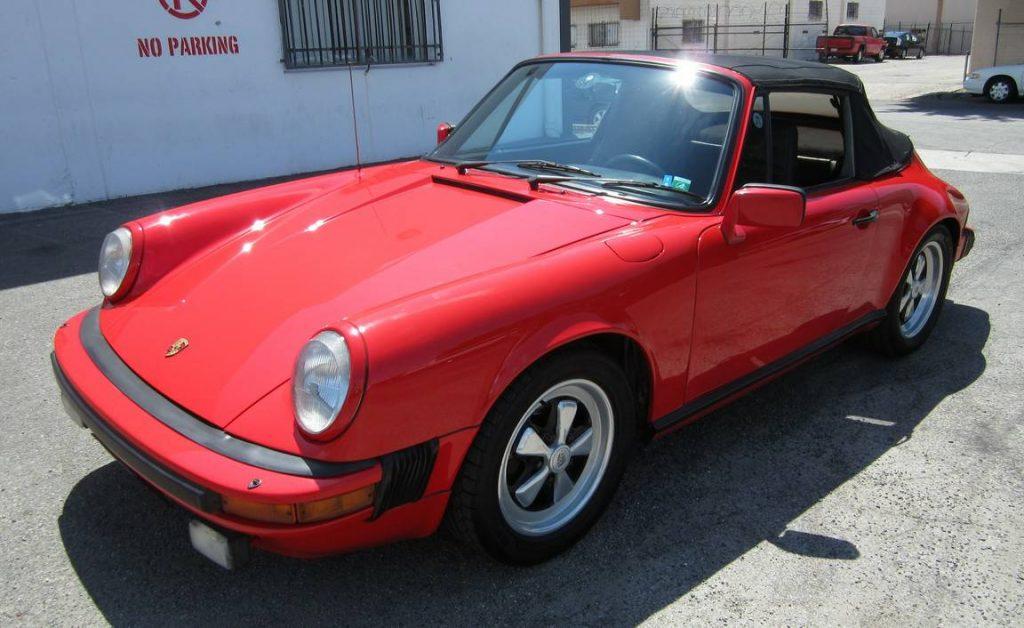 Porsche 911 SC Convertible 1983 (Very Original condition & Perfect Driver)