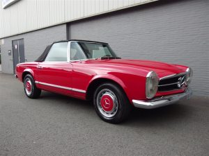 Mercedes 250 SL 1968 (Vintage Sixtees Cruiser)