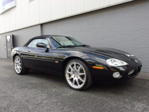 Jaguar XKR 100 Convertible 2002 (Very Rare Car & Beautiful Condition)