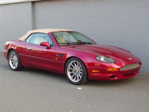 Aston Martin DB7 Volante 1997 (Unique Youngtimer & Presentable Condition)