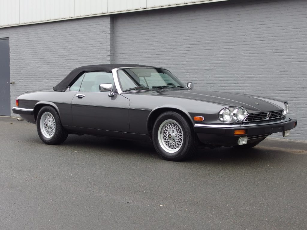 Jaguar XJS V12 Convertible 1989 (Unique Color Combination & Classic Driver)