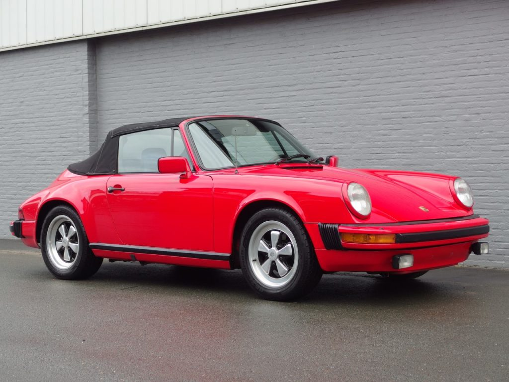 Porsche 911 SC Convertible 1983 (Very Original condition & Perfect Driver)
