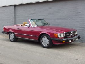 Mercedes 560sl 1989 (Great Runner & Very Late Production)