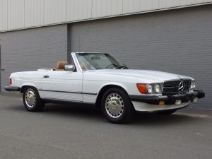 Mercedes 560 SL 1987 (Rust Free Arizona Import & Great Technics)