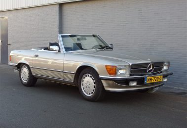 Mercedes 300sl 1985 (EU Specs & Desired Smoke Silver)