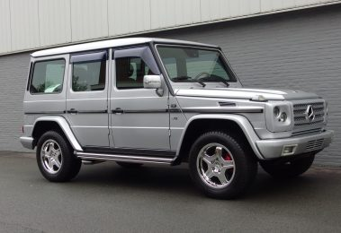 Mercedes G500 long 2001 (Facelift Model & Strong Driver)