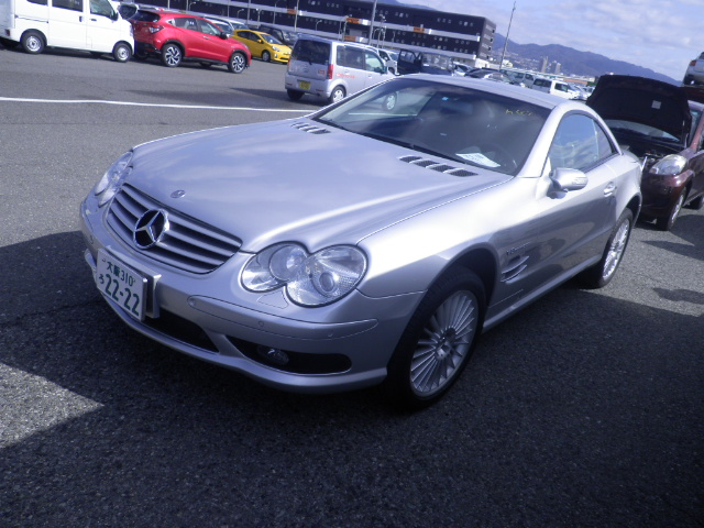 Mercedes SL55 AMG 2003 (Extremely Fast & Very Presentable)