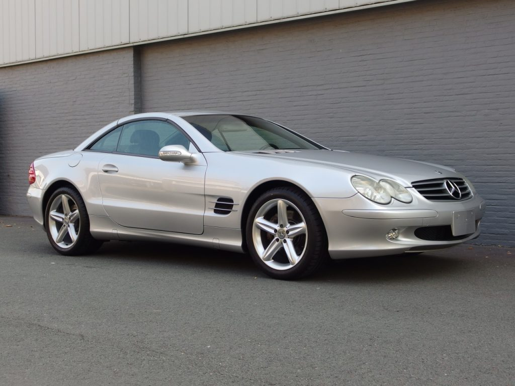 Mercedes SL500 2002 (Presentable Car & German Registration / TÜV)