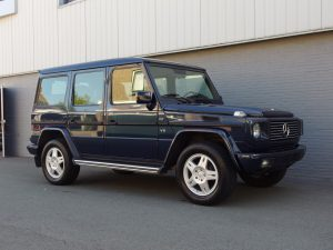 Mercedes G500 Long 1999 (Nice Color Combination & 7 Seater)