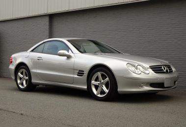 Mercedes SL 350 2003 (Perfect Condition & Low Mileage)