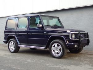 Mercedes G500 Long 2001 (Facelift Model & Sunroof)