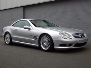 Mercedes SL 55 AMG 2003 (Very Presentable & Strong Machine)