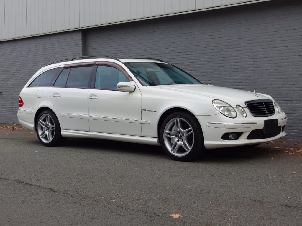 Mercedes E55 AMG Station Wagon 2004 (Unique Model & Extremely Fast)