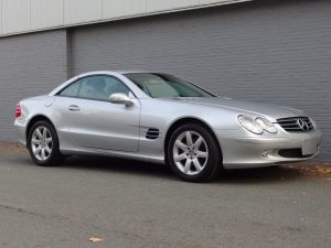 Mercedes SL 350 2003 (Very Presentable & Low Mileage)
