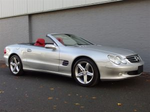 Mercedes SL500 2004 (Silver Arrow Color Combination & Low Kilometers)