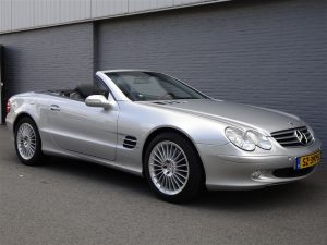 Mercedes SL500 2002 (Summer Cruiser & Dutch Registration)
