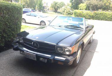 Mercedes 560 SL 1986 (Presentable Car & Great History Documentation)