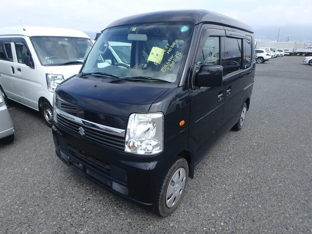 Suzuki Every Wagon 2007 (Nice Drive & Typical Japanese Van)