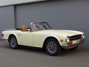 Triumph TR6 1969 (Strong Body & Great Runner)