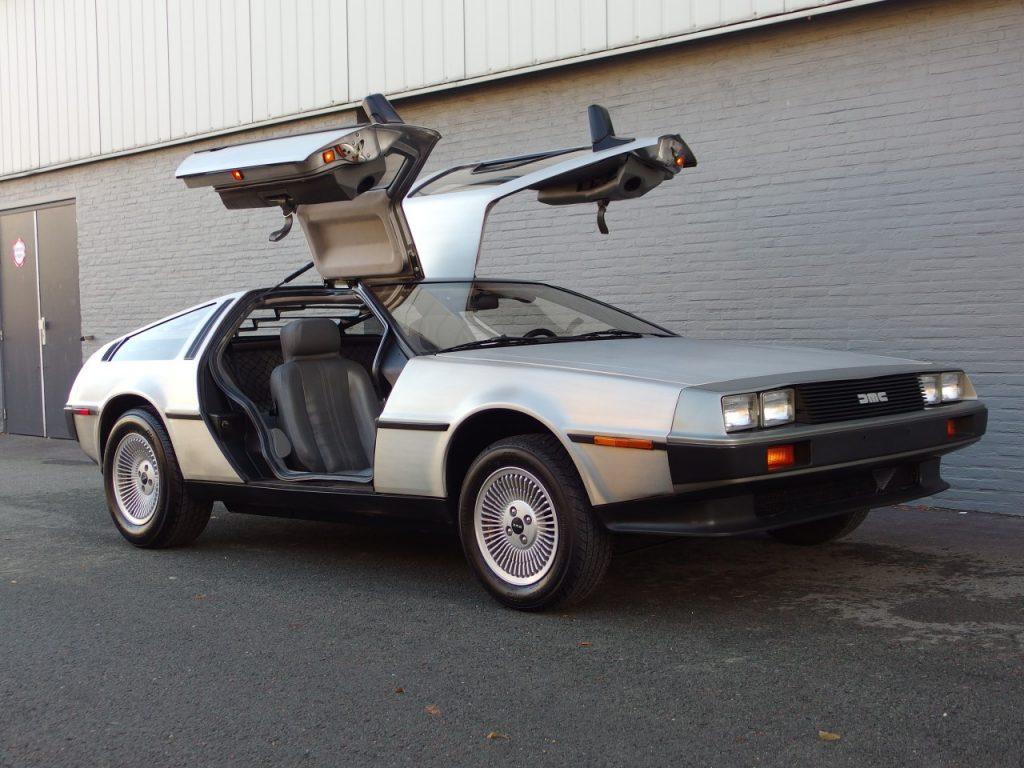 DMC DeLorean 1981 (Rare Iconic Car & Very Presentable)