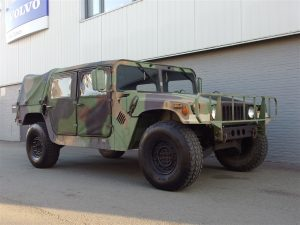 Humvee H1 Diesel 1987 (Extraordinary Military Vehicle ready to Conquer Europe)
