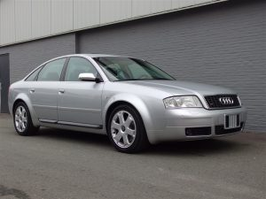 Audi S6 2004 (Powerful Car & Fantastic Driver)