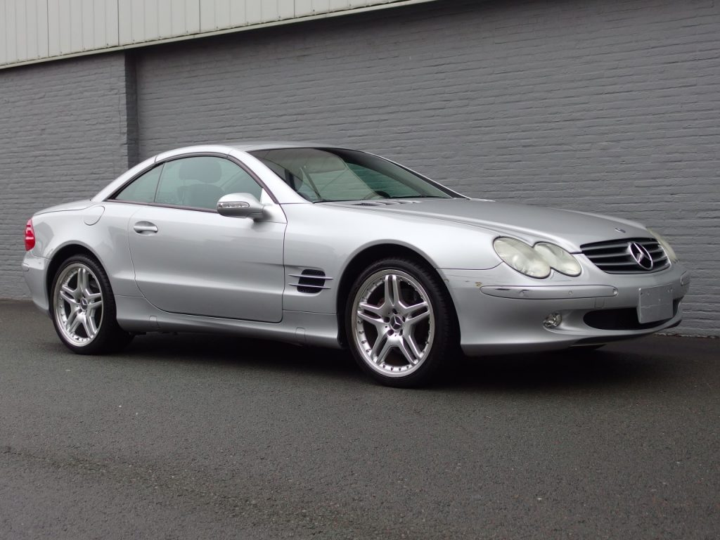 Mercedes SL 500 2003 (Perfect Driver & Original Condition)