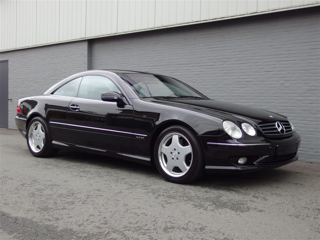 Mercedes CL 600 2001 (Very low Kilometers & Beautiful Condition)
