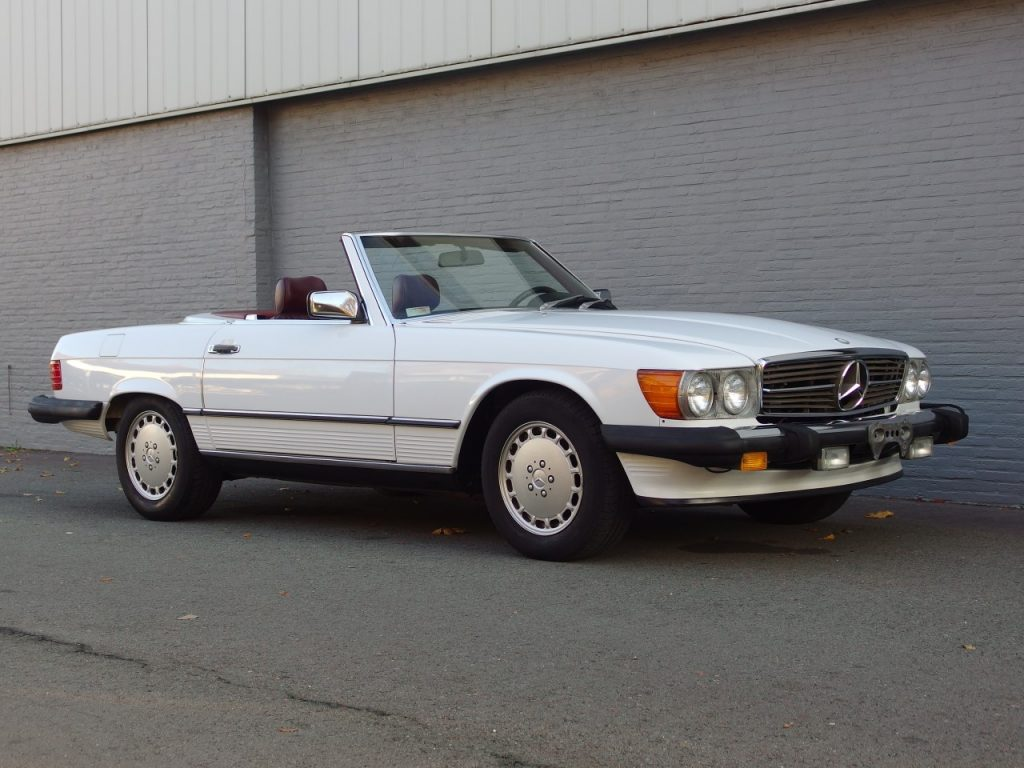 Mercedes 560 SL 1989 (Last Production Year & Great Documentation)