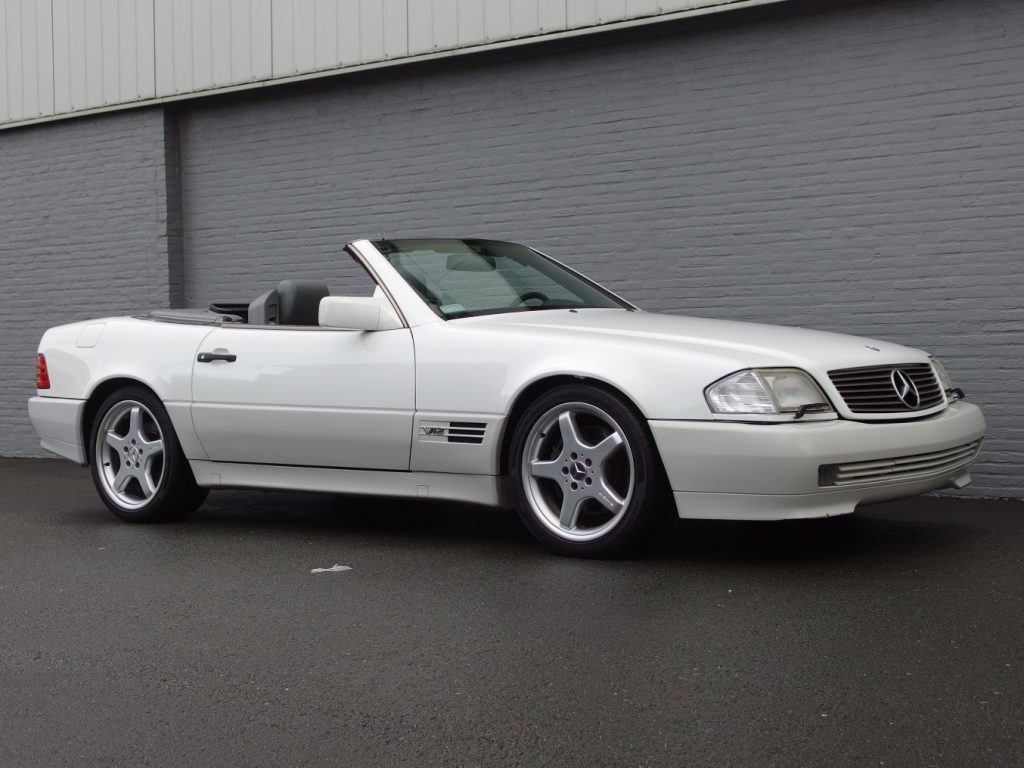 Mercedes SL 600 1994 (Unique Car & Hard To Find)
