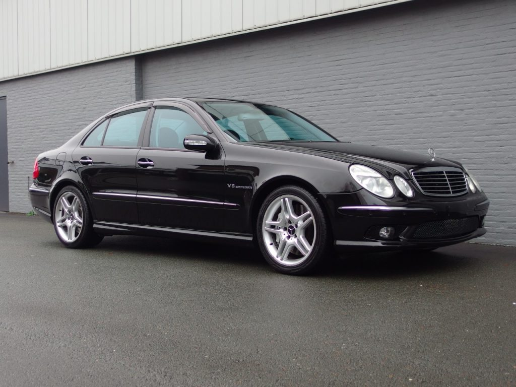 Mercedes E55 AMG 2004 (Beloved Color Combination & Full Options)