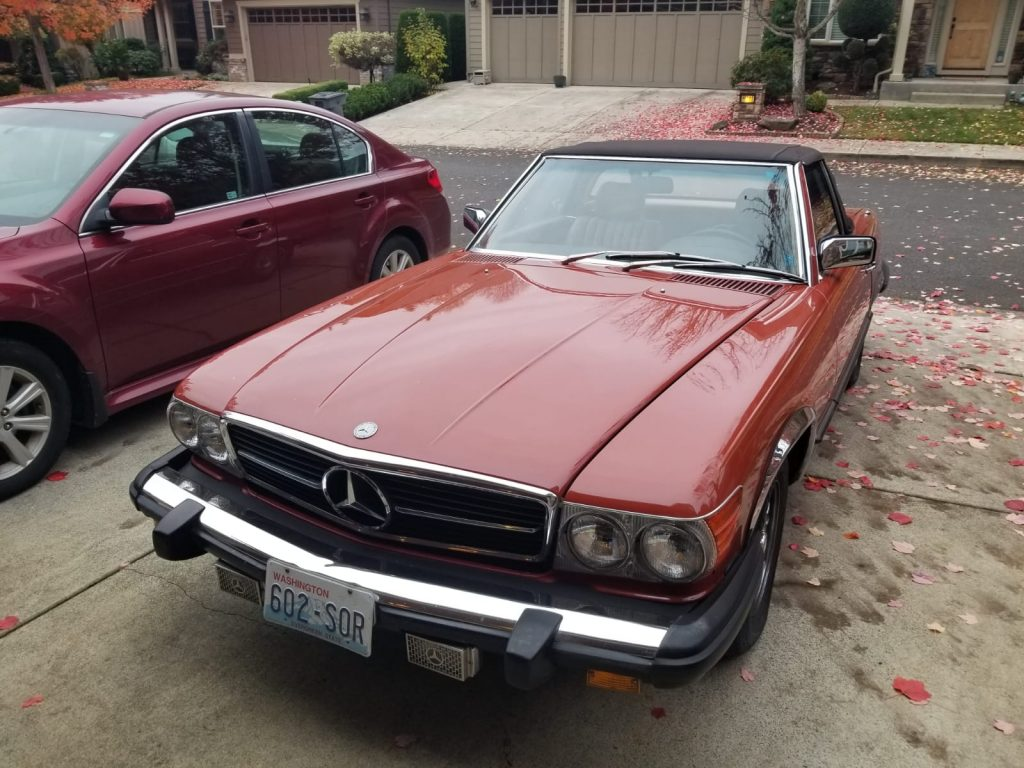 Mercedes 380 SL 1984 (Original Condition & Very Presentable Car)