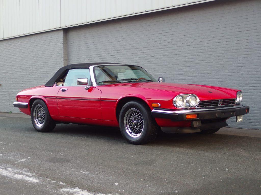 Jaguar XJS V12 Convertible 1989 (Original Condition & Rust Free)