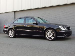 Mercedes E55 AMG 2003 (Fast Car & Sunroof)