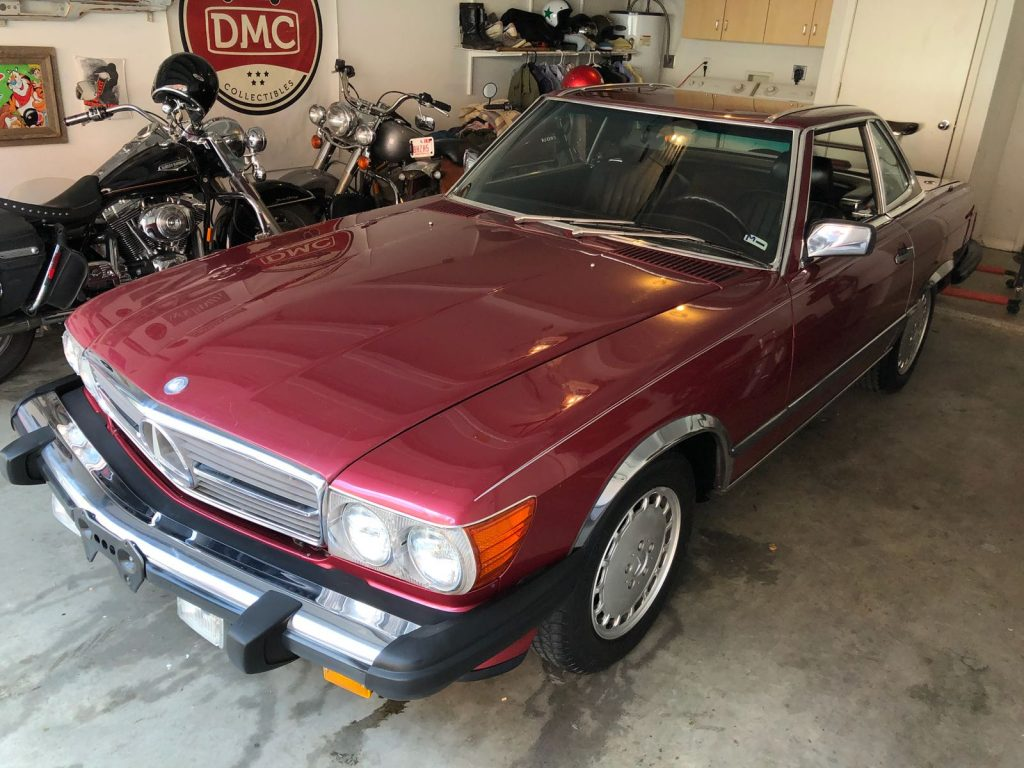 Mercedes 560 SL 1989 (Last Production Year & Strong Car)