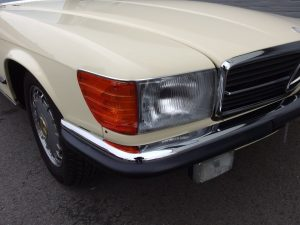 Mercedes SL R107 European Conversion Service