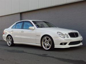 Mercedes E55 AMG 2003 (Fast Car & Unique Yountimer)