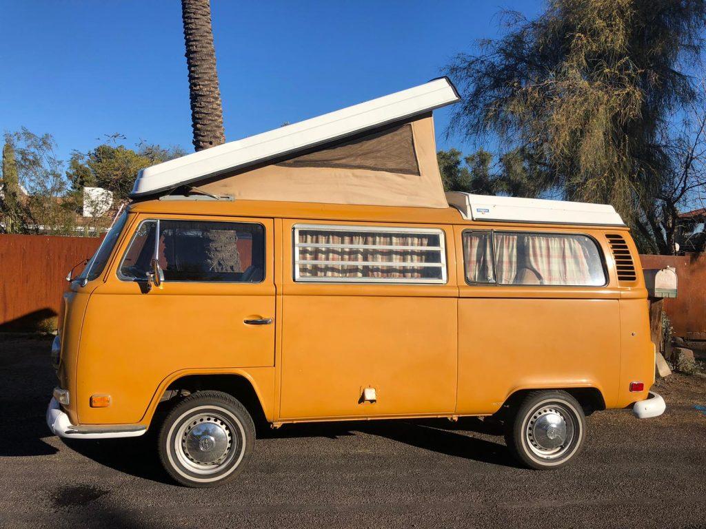 Volkswagen T2 Westfalia 1972 (Very Original Condition & Great Camping)