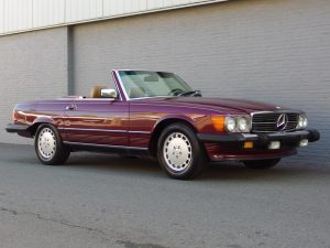 Mercedes 560 SL 1986 (Fantastic Summer Cruiser & Perfect Body)
