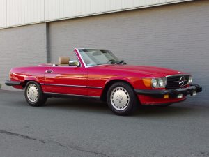 Mercedes 560 SL 1988 (Perfect Summer Cruiser & Very Original Condition)